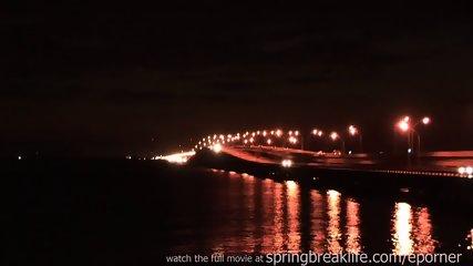 Naked On A Bridge With Big Boobs - scene 6
