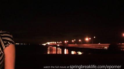 Naked On A Bridge With Big Boobs - scene 7