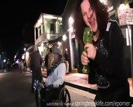 Mardi Gras Street Flashers - scene 11