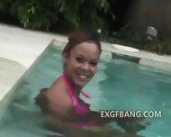 Pink Bikini Exgf Gives Head - scene 7