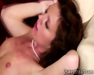 Superb Brunette Lezzies Pussy Gets Depply Licked By Gorgeous Blonde - scene 5