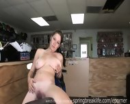 Big Tits Naked Masturbating On Bikes - scene 4