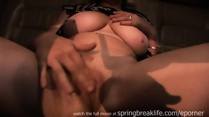 Big Boobs Masturbation In Car - scene 4