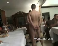 College Boys Hazed Into Gay Sex - scene 7