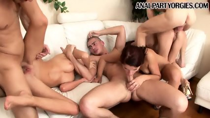 Orgy and anal and fun