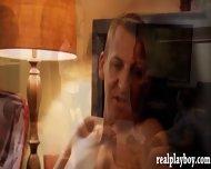 Bunch Of Married People Groupsex Inside Playboy Bedroom - scene 9