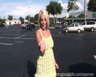 Naked Blonde In Public - scene 6