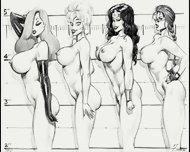 Big Tits Busty Celebs Hardcore Fucking In Huge Boobs Rough Sex - scene 10
