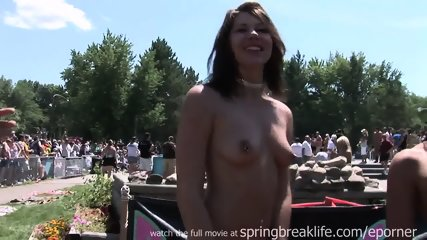 Naked Strippers In Public - scene 6