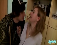 Shy Teen Fucks With Her Crazy Boy - scene 3