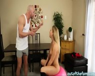 Pierced Tits Babe Pounded And Facialized By Her Bffs Daddy - scene 7