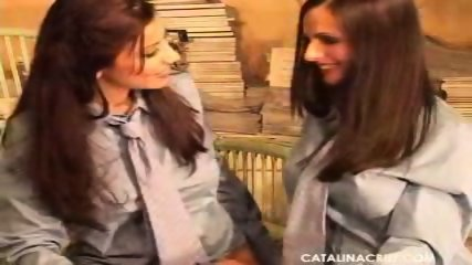 Catalina Cruz and Vivianna - Lesbian Reunion - scene 3