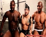 Gaysex Ebony Toying His Asshole - scene 1
