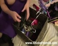 Australian Amateur Playing With Her Sex Toys - scene 11