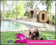 Lesbian Teens Licking Pussy Making Outdoors Sex Tape - scene 5