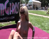 Hot Naked Stripper Outdoor - scene 8