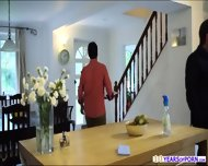 Jane Entices Her Husbands Co Worker And They Have Fucking Session - scene 2