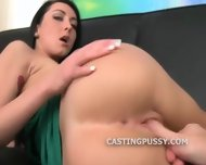 Tight Pussy Teen Fingerbang Auditioning - scene 10