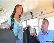 Kacy Gets Fucked By The School Drivers Bigcock And Receives Facial - scene 2