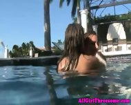 Young Petite Lesbian Dykes Dildo Loving - scene 12