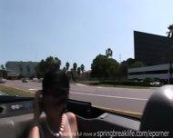 Naked Convertible Ride - scene 9