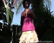 Naked Emo Girl Outdoors - scene 10