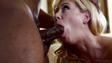 Blonde Takes Hard Black Dick - scene 4