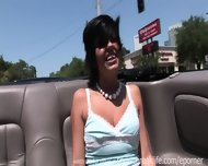 Great Tits Flashing In Convertible - scene 6