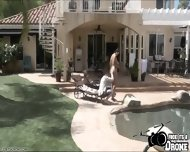 Alison Tyler Gets Banged By The Pool And Receives A Messy Hot Load - scene 6