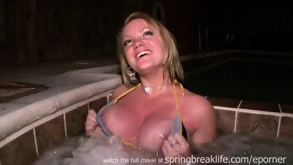 Drunk Spring Break Jacuzzi Girl - scene 2