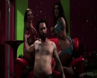Drunk Guy Dreams About Sex With Strippers - scene 3
