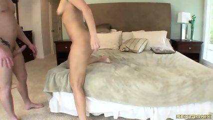 Hottie Rammed Hard In Hotel Room - scene 12