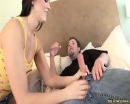 Hottie Rammed Hard In Hotel Room - scene 3