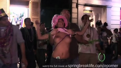 Mardi Gras Street Flashing