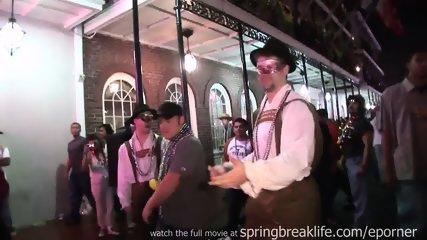 Mardi Gras Street Flashing - scene 5