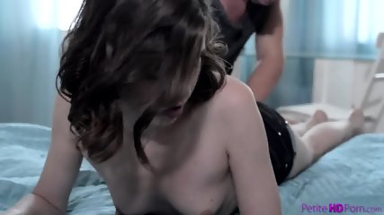 Young Brunette Gets Satisfaction - scene 1