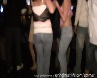 5 Girls Flashing South Padre - scene 9