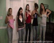 5 Girls Flashing South Padre - scene 5