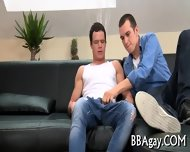 Naughty Cock Riding With Gay Stud - scene 7