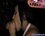 Glamour Gloryhole Slut Sucking Hard Cock - scene 5