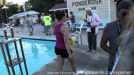Naked By The Pool - scene 7