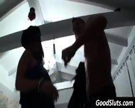 Male Cop Stripper Surprises Teen Girls - scene 7