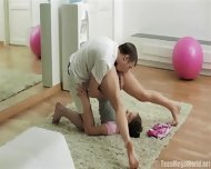 Acrobatic Sex During Joga With Casual Teen - scene 6