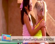 Super Petite Teens Having Hot Sex - scene 7