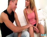 Sweet Teenie Gets Banged By Her Boyfriend - scene 1
