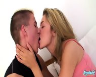 Sweet Teenie Gets Banged By Her Boyfriend - scene 3
