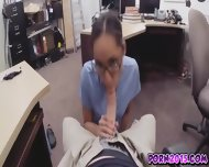 Agnes Loves Sucking That Big Cock Inside Pawnshop - scene 5