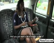 Black Amateur Girl Fucked By Fake Driver For A Free Fare - scene 3