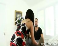 Milf Surprises Stepson With Her Slutty Best Friend - scene 2