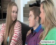 Teen Couple Fucking With Busty Stepmom Brandi Love - scene 4